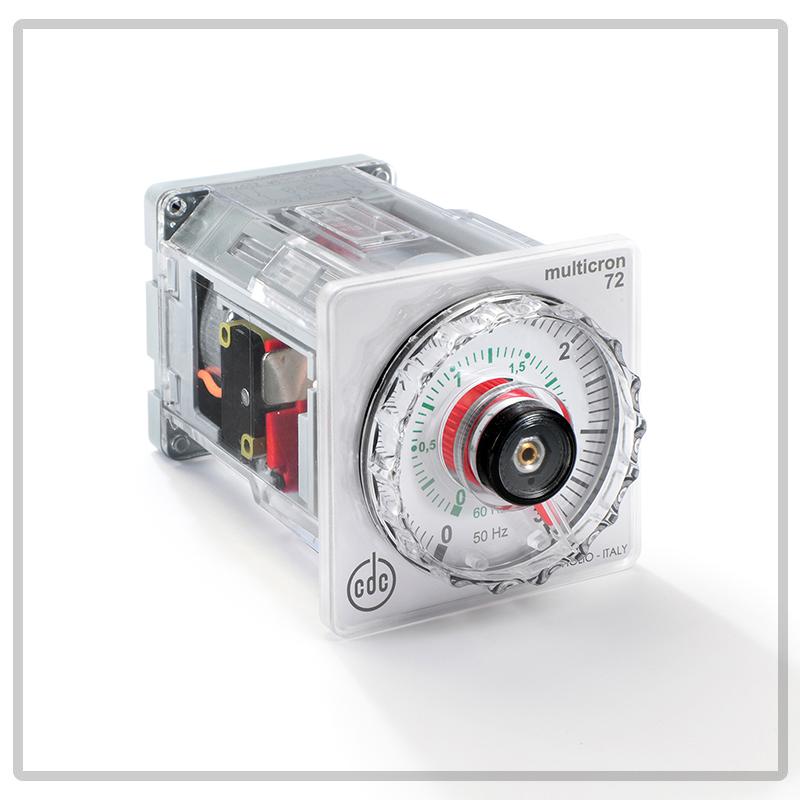 1400 Timer Elettromeccanico con indice mobile, multiscala