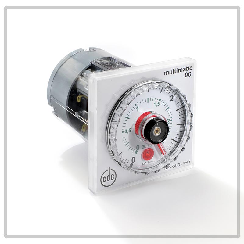 2000 Timer Elettromeccanico con indice mobile, multiscala