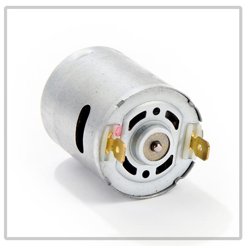 Il modello M70 funziona in corrente continua; è disponibile solo per bassa tensione, e per sua natura puo' ruotare nei due sensi, cambiando la polarita' della tensione continua applicata.