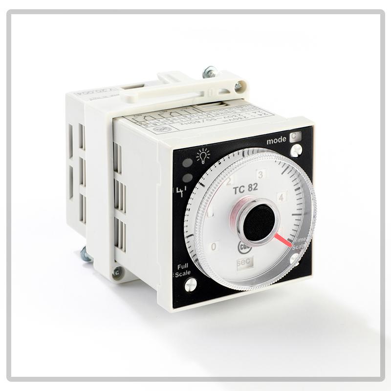 TC82 timer multiscala, multitensione, multifuzione da incasso