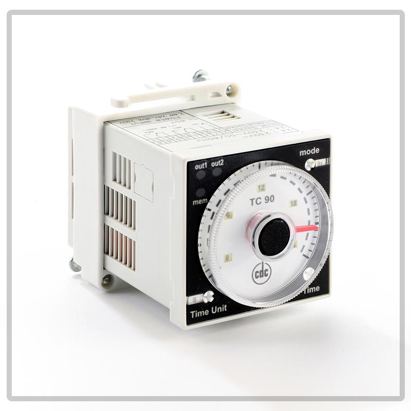 TC90 timer multiscala, multitensione, multifuzione da incasso