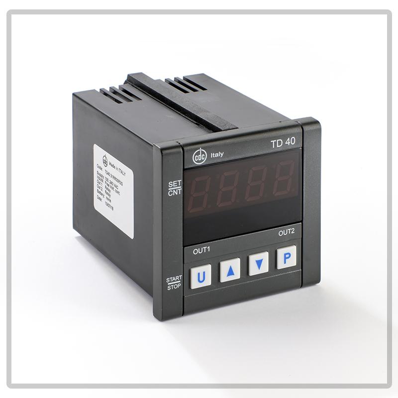 TD40 timer multiscala, monotensione, multifuzione da incasso