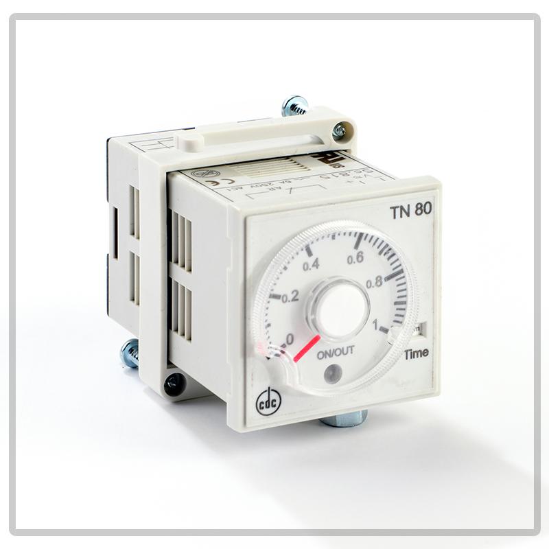 TN80 timer elettronico ad impostazione analogica