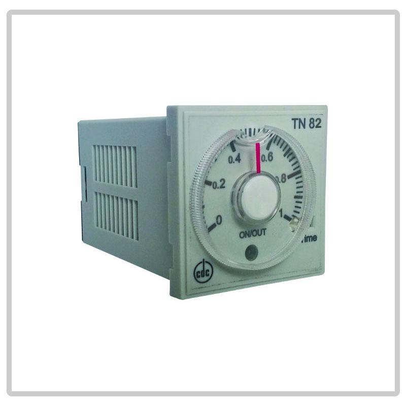 TN82 timer multiscala, multitensione, multifuzione da incasso
